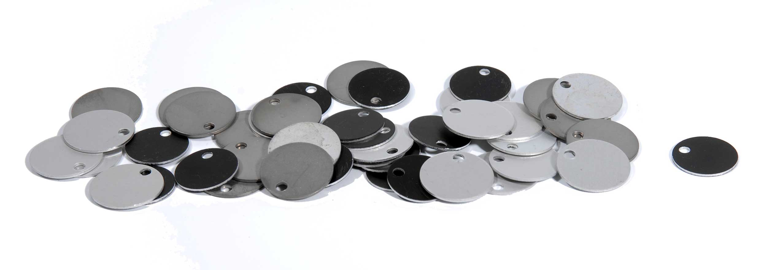 Material Kunststoff schwarz-weiss